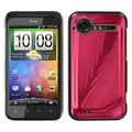 BasAcc Red Cosmo Back Case for HTC ADR6350 Droid Incredible 2
