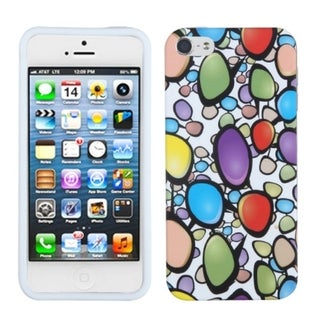 BasAcc Rainbow Gemstones Skin Case for Apple iPhone 5