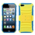 BasAcc Yellow/ Tropical Teal Armor Stand Case for Apple� iPhone 5