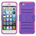BasAcc Purple/ Electric Pink Armor Stand Case for Apple� iPhone 5