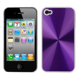 BasAcc Purple Cosmo Back Case for Apple iPhone 4S/ 4
