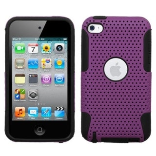 BasAcc Purple/ Black Astronoot Case for Apple iPod touch 4