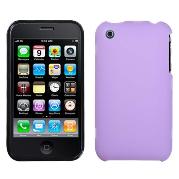 BasAcc Purple Phone Case for Apple iPhone 3GS/ 3G