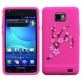 BasAcc Flowers/ Pink Pastel Skin Case for Samsung� I777 Galaxy S II