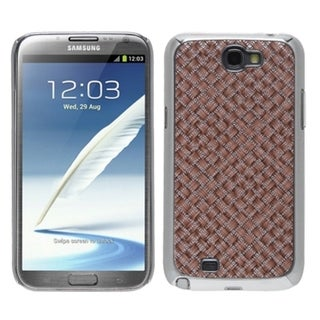 BasAcc Vermilion Silver Plating Alloy Case for Samsung� Galaxy Note II