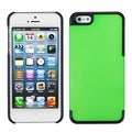 BasAcc Dark Green/ Black MyDual Protector Case for Apple iPhone 5