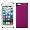 BasAcc Solid Pink/ Black MyDual Protector Case for Apple� iPhone 5