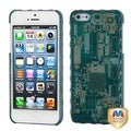 BasAcc Blue Sides/ Blue Circuit Board Alloy Case for Apple� iPhone 5
