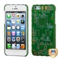 BasAcc Green Sides/ Green Circuit Board Alloy Case for Apple� iPhone 5