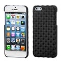 BasAcc Diagonal Plaid Black Alloy Executive Case for Apple� iPhone 5
