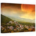 Dragos Dumitrascu 'Red Dawn' Gallery-Wrapped Canvas