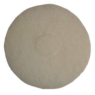 Oreck White 12-inch Polish Pad