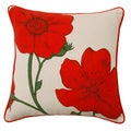 Jovi Home 'Ella' Floral Pattern 17-Inch Throw Pillow