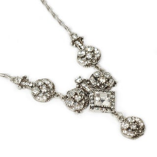 Sweet Romance 1920s Harlequin Necklace