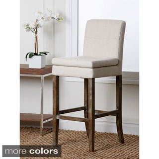 Abbyson Living Colin Linen Bar Stool