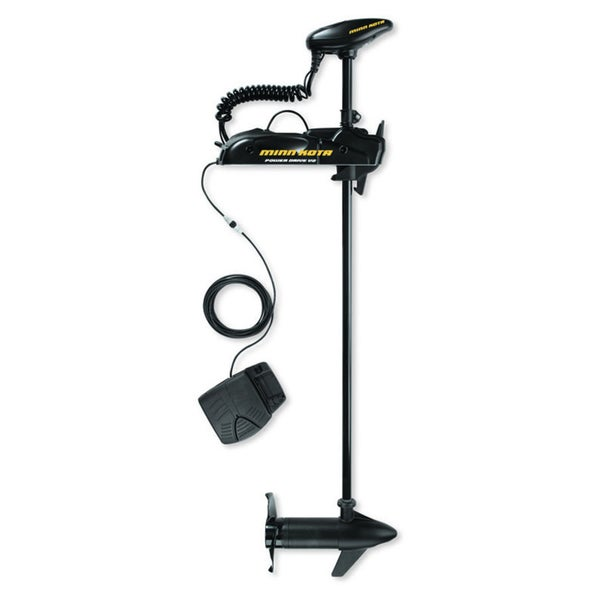 "Minn Kota 55 PowerDrive 55-lb Thrust Freshwater Bow Mount Trolling Motor, 54"" Shaft"