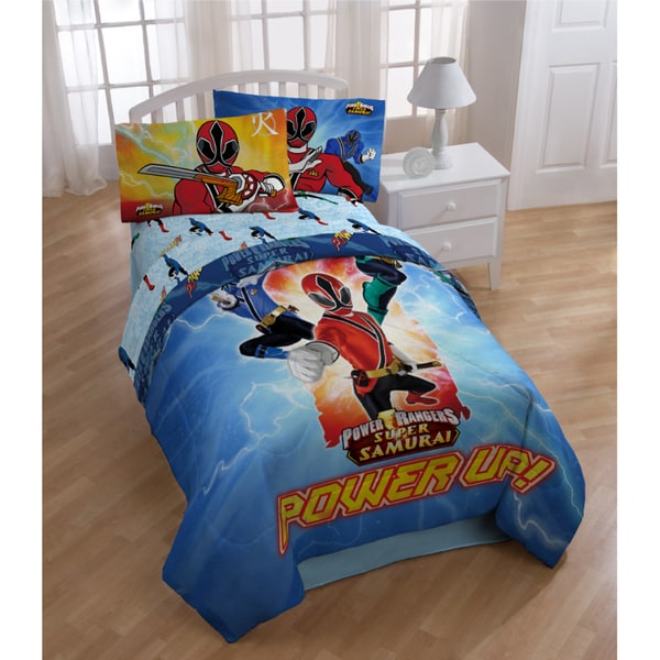 Power Rangers Twin Bedding