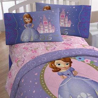 Disney Sofia First Princess in Training 10-piece Bed-in-a-Bag with Sheet Set
