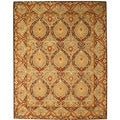 Hand-tufted Royal Kabul Twisted Wool Rug (8'9 x 11'9)
