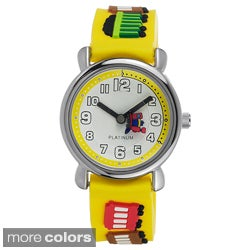 Geneva Platinum Kid's Silicone Watch