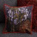 Batik Cushion Covers with Printed Coconut Tree