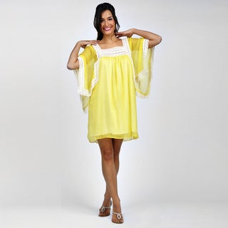 Juliet Dream Yellow Bohemian Maternity Dress