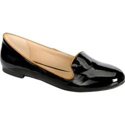 Women's Beston Carol-05 Black Faux Leather
