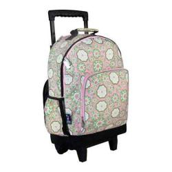 Girls' Wildkin High Roller Rolling Backpack Majestic