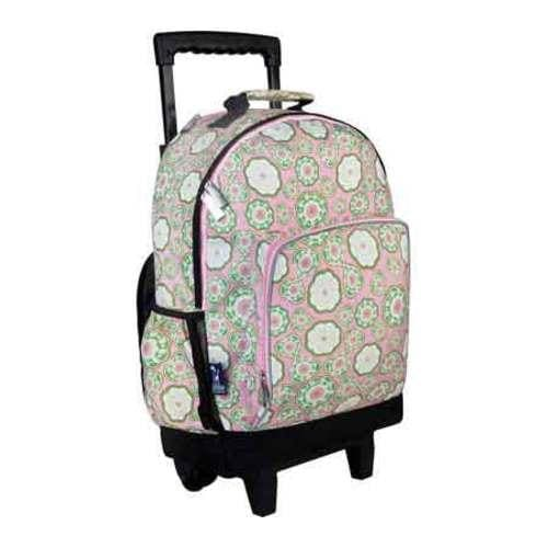 Wildkin Majestic High Roller Rolling Backpack