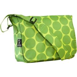 Wildkin Kickstart Messenger Bag Big Dots Green
