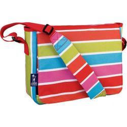 Girls' Wildkin Kickstart Messenger Bag Bright Stripes