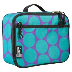 Wildkin Lunch Box Big Dots Aqua