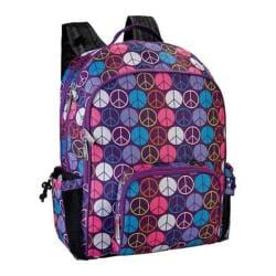 Girls' Wildkin Macropak Backpack Peace Signs