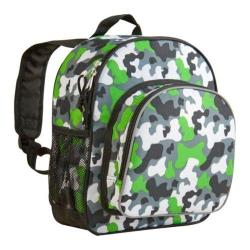 Wildkin Green Camo Pack 'n Snack Backpack