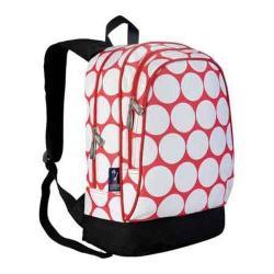 Children's Wildkin Sidekick Backpack Big Dot Red & White