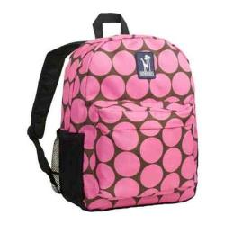 Girls' Wildkin Tag-Along Backpack Big Dots Hot Pink
