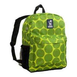 Children's Wildkin Tag-Along Backpack Big Dots Green