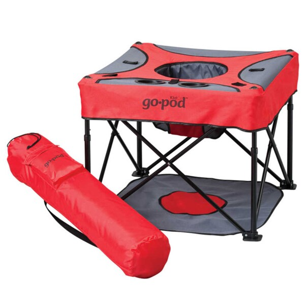 KidCo Go Pod Cardinal Portable Activity Seat 11264949