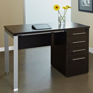 SB Espresso 4-drawer Work Desk