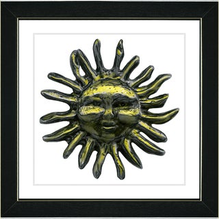 Studio Works Modern 'The Sun' Framed Art Print