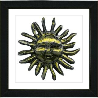 Studio Works Modern 'The Sun' Framed Art Print