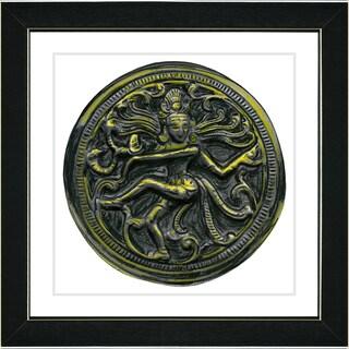 Studio Works Modern 'Shiva Dancing' Framed Art Print