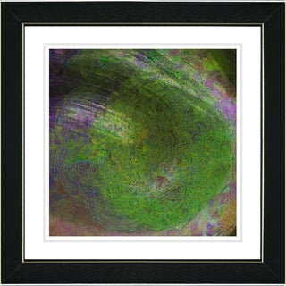 Studio Works Modern 'Green Tosca' Framed Art Print