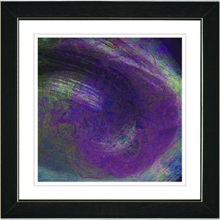 Studio Works Modern 'Purple Tosca' Framed Art Print