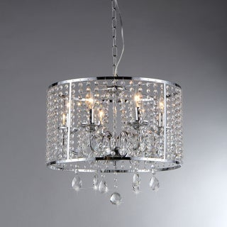 Kirke Chrome Chandelier