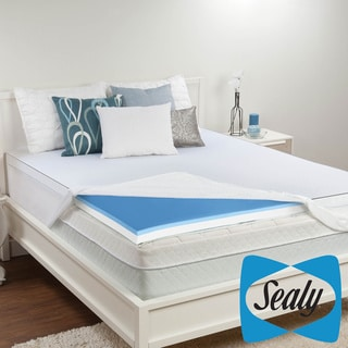 Sealy 3-inch Memory Foam and Surface Gel Mattress Topper