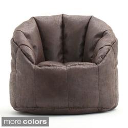 BeanSack Big Joe Milano Faux Leather Bean Bag Chair