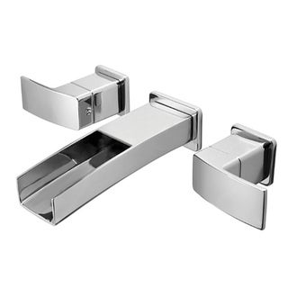 Price Pfister Polished Chrome Kenzo Double-handle Wall Mount Bathroom Faucet Trim
