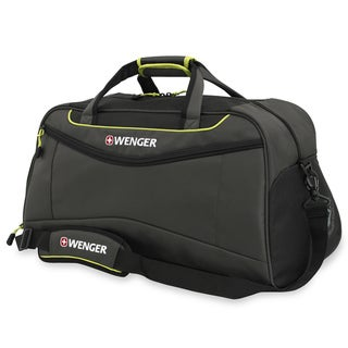 Wenger Terrain Crossing 24-inch Grey Lime Duffel
