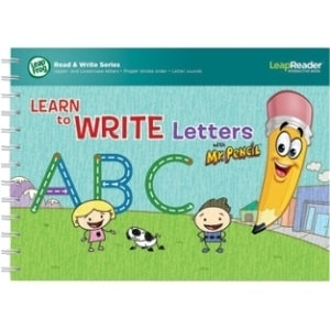 LeapFrog LeapReader Book: Learn to Write Letters with Mr Pencil Inter
